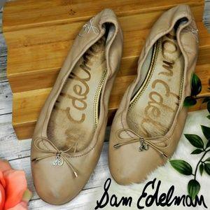 sam edelman Nude Felicia Ballet Flats womens 9.5